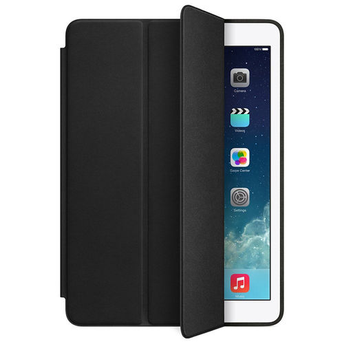 Trifold Smart Cover Sleep/Wake Case for Apple iPad Air 1st Gen - Black